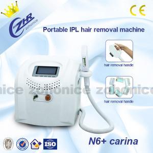 Portable IPL Hair Removal Machines , IPL Dermatology Equipment Manufactures