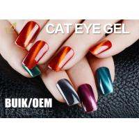 Solvent Free Changable Cat Eye Gel Nail Polish 3D Effect Liquid No Nicks Manufactures
