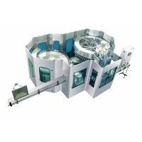 PLC Controlled Carbonated Drink Production Line / Carbonated Soda Filling Machine Manufactures