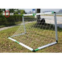Unbreakable Fiber Football Goal Nets Stable Portable For Kids Easy Set Up Manufactures