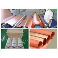 2 OZ Single Side Black Back Copper Foil , Resin Board Copper Sheet Roll Manufactures