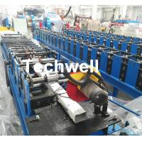 Downspout Machine / Suqure Tube Cold Roll Forming Machine for Making Rectangular Tube Manufactures
