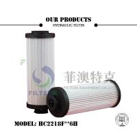 20 Micron Liquid Filter Cartridge High Performance Pleated ABS Plastic End Cap Manufactures