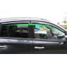 Wind Deflectors For Renault Koleos 2009 Car Window Shields With Trim Stripe Manufactures