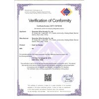 Shenzhen Wins Novelty Technology Co., Ltd. Certifications