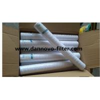 30 inch 5 micron  String Wound PP Cotton Water Filter Cartridge For Sediment Filter Manufactures