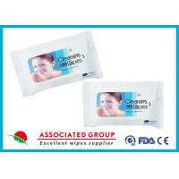 Cleansing Makeup Remover Wipes Flushable Hypoallergenic PH Balanced Vitamine E Additive Manufactures