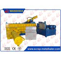 Buy cheap PLC Automatic Hydraulic Metal Baler Scrap Metal Baling Press Side Push Out 250Ton Force 90kW from wholesalers