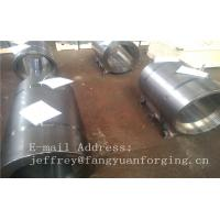 Normalized Forged metal sleeve Rough Turned ST52-3 S355J2G3 P355GH Manufactures