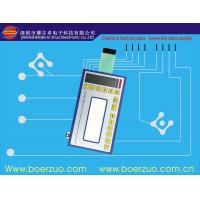 Quality Metal Dome LED embossing tactile Membrane Switch Keypad With Connector for sale