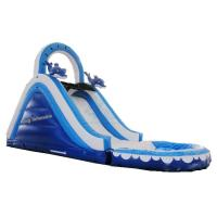 Commercial Hifht Quality mini inflatable water slide for sales Manufactures