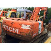 Japan Hitachi Ex120 Second Hand Excavators , Long Reach Excavator Year 1994 Manufactures