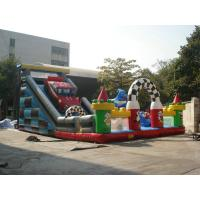 Giant Inflatable Sports Games Amusement Parks Customized For Company Events Manufactures