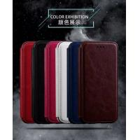 Book Cover IPhone Leather Wallet Case For Iphone 7 Plus Flip Stand Two Card Slot Manufactures
