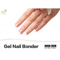 High Gloss Finish Clear Gel Nail Bonder For Nail Beauty No Toluene / Solvent Manufactures