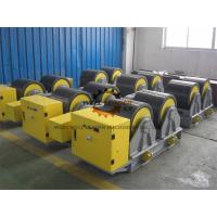 Manual Adjustable PU Tank Turning Rolls 40T Loading Capaicty CE Standard Manufactures
