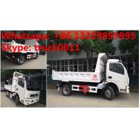 2017s new cheapest price dongfeng 4*2 LHD 3-5tons dump tipper truck for sale, factory sale dongfeng LHD tipper truck Manufactures