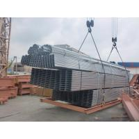 Hot - Dip Galvanized Workshop Steel Structure Of  Galvanized C & Z  Purlins Manufactures