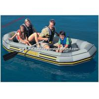 Large Funny PVC Inflatable Raft Boat , Four Person Inflatable Raft For Adults / Kids Manufactures
