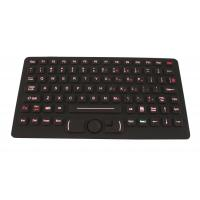 USB Desktop Silicone Military Keyboard With FSR Mouse With Red Backlit Manufactures