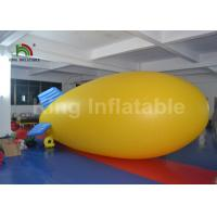 Outdoor Airship PVC 5m Helium Inflatable Advertising Balloons For Commercial Manufactures