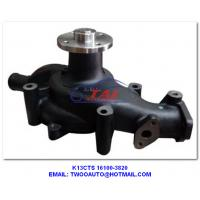 China K13cts Car Power Steering Pump 16100-3820 , Truck / Trailer / Car Cooling Water Pump Type 16100-3820 For Hino K13cts on sale