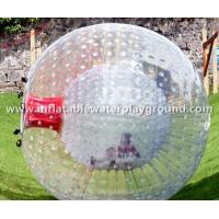 Quality Large Clear Inflatable Zorb Ball Rental , Human Sized Hamster Ball for sale