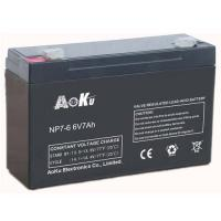 6v7ah agm batteries emergency light battery electric tool battery Manufactures