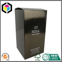 Gold Color Metallic Paper Box for Cosmetic Perfume Packaging Carton Box Manufactures