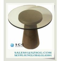 China rotating glass coffee table (round,oval,square,rectangle) on sale