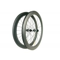 DT350S Central Lock Carbon Road Bike Wheels 60MM Depth With Disc Brake Manufactures
