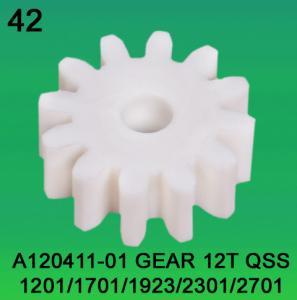 A120411-01 GEAR TEETH-12 FOR NORITSU qss1201,1701,1923,2301,2701 minilab Manufactures