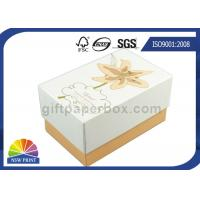 China Imprint Gold Stamping Cardboard Gift Box Packaging Stylish Design Custom Shapes on sale