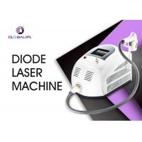 China Painfree And Permanent Diode Laser Hair Removal Machine 10 - 1400ms Adjustable on sale