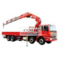 16 Ton Knuckle Boom Truck Mounted Crane , Heavy Things Lifting Knuckle Boom Crane Manufactures