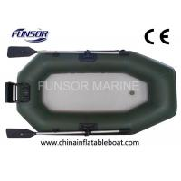 Quality 2 Man PVC Motorized Inflatable Boats Inflatable Dinghy With Motor for sale