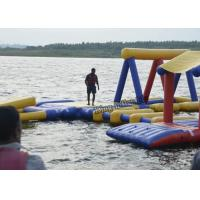 Quality Commercial Inflatable Water Parks , Splash Water Playground Equipment for sale