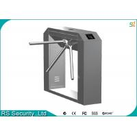 Bi-direction Waist Height Turnstile Security Systems Enter And Exit Tripod Gate Manufactures