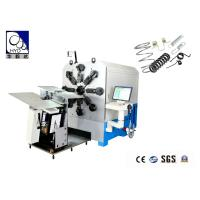 8mm 16 Axes Cam - Less CNC Control Spring Bending Machine With High - Efficiency Manufactures