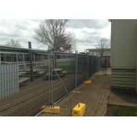 2100mm x 3600mm customized temporary fencing panels OD35mm wall thickness 1.00mm 100mm x 200mm mesh Manufactures