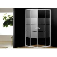 5mm Tempered Glass Bathroom Shower Enclosures Corner Shower Cubicles 800 x 800 Manufactures