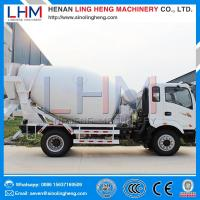 Whole sale high quality competitive price 4m³ Small Concrete Mixer Truck Manufactures
