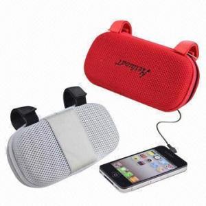 Mini portable travel speaker bag, 2W Power Manufactures