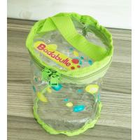 Non-toxic Round PVC Baby Toys / Clothes Organizer Pouch for Promotional Dispaly Manufactures