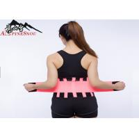 Curves Trimming Waist Support Brace Breathable Neoprene For Men / Woman Manufactures