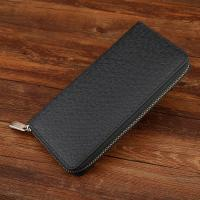 Multi Card Bits Genuine PU Black Leather Wallet Womens For Putting Iphone 6 Plus Manufactures