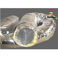 Flexible Air Conditioning Insulated Flexible Ducting For Ventilation Application Manufactures