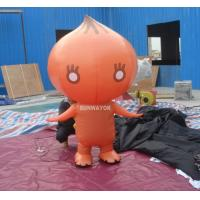 Attractive Orange Onion Advertising funny inflatable costumes for kids Manufactures