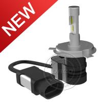 China Newest All-in-one 30W Led Headlight Kit 8-32V 4200LM H4 Auto Car Headlight Bulb on sale