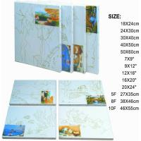 Premier Art Painting Canvas For Printing 100% Natural Cotton Paulownia Or Fir Wood Manufactures